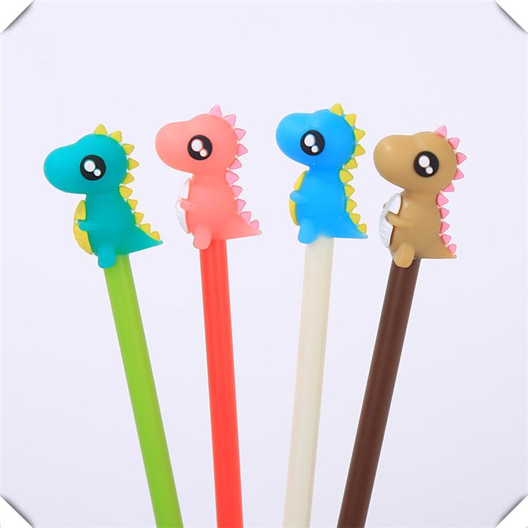 韩版新品可爱甜甜圈创意软胶立体笔套 卡通动物通用PVC硅胶笔帽
