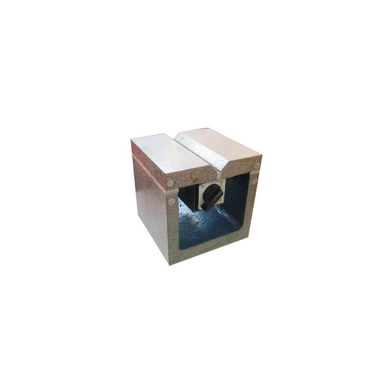 磁力方箱 铸铁方箱 零部件平行度检测划线量具 磁性方箱