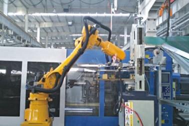 压铸取件机械手 机器人取件喷雾系统 专业定制