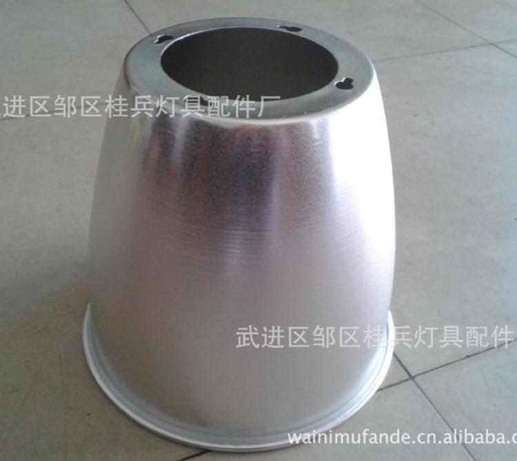 厂家定做旋压加工 直筒型LED工矿灯灯罩 加厚磨砂聚光灯罩