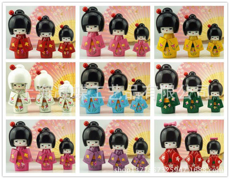 日本人偶娃娃 木娃 玩偶公仔人形 手办 和风小物 家居摆件