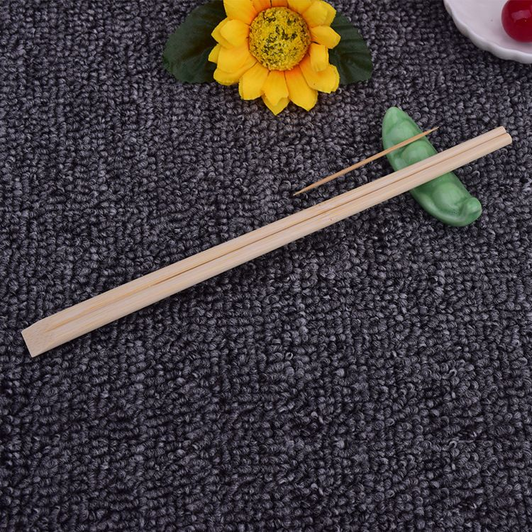 天天竹筷 一次性筷子定制 双生竹筷外卖快餐专用 一次性筷子套装带牙签