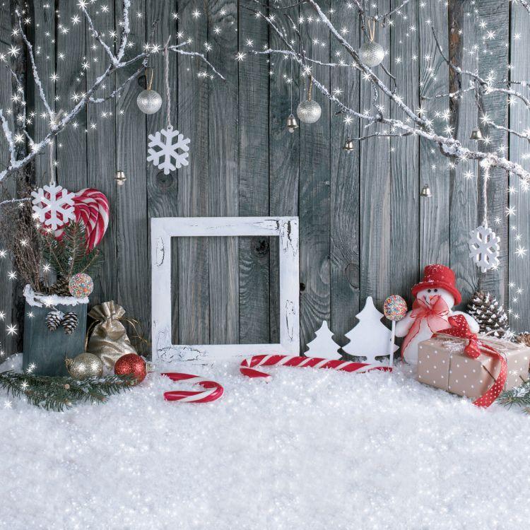 亚马逊wish热销新款10X10FT高清圣诞节背景布乙烯基背景布批发