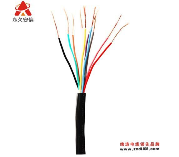 國標護套線RVV5*6平方家裝電線電源線永久安信廠家生產定制
