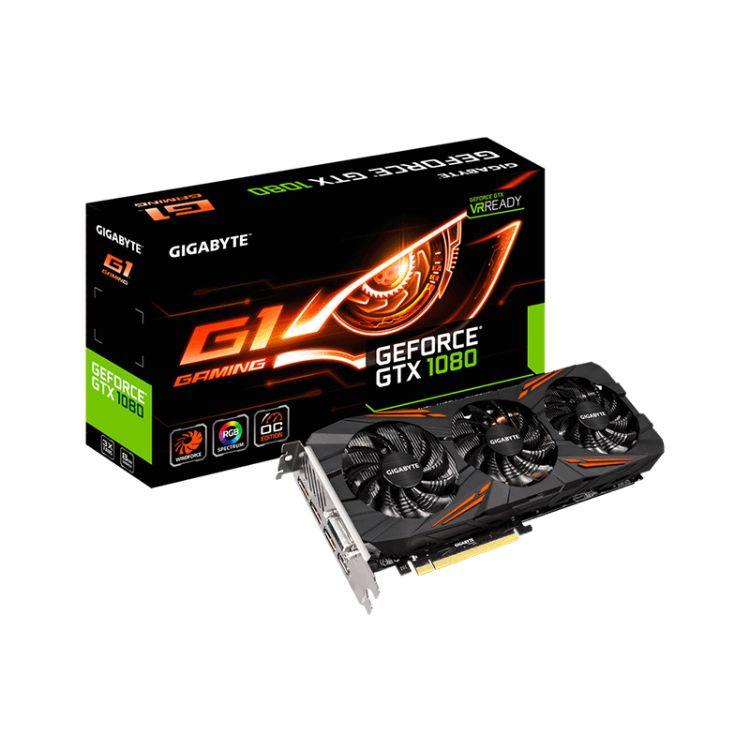 技嘉 GTX1080 G1 GAMING 8GD5 非公版台式机游戏电脑独立显卡