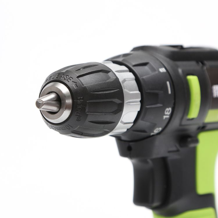 【包邮】得伟21V锂电池充电钻 手持电动起子 正反转可调节