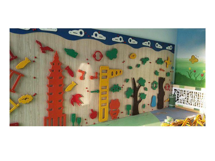 幼儿园木质儿童攀岩墙早教感统攀爬墙攀爬架多款式主题