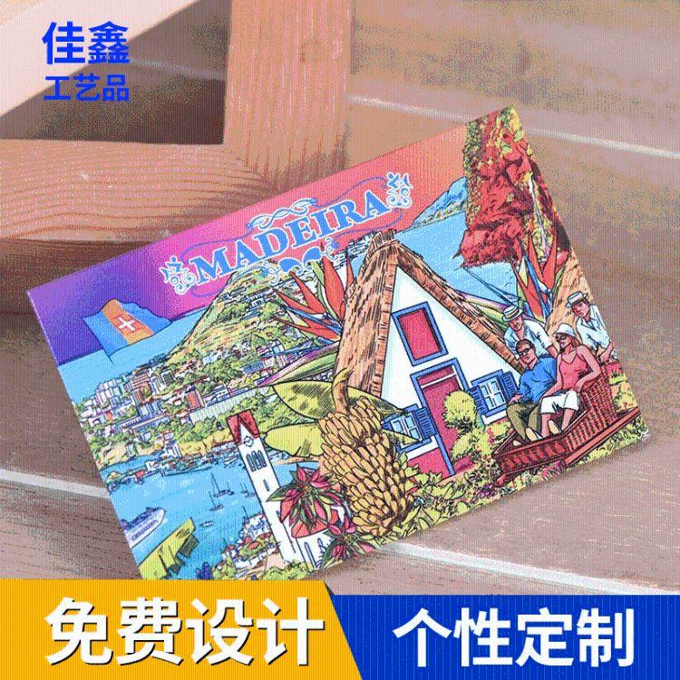 佳鑫 带磁铁马口铁冰箱贴 长方形马口铁冰箱贴 广告宣传用
