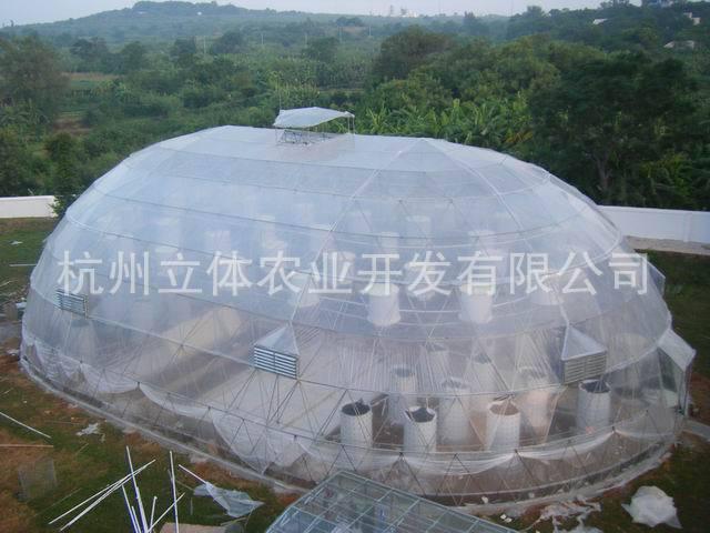 立体农业厂家供应 建造蔬菜钢管大棚 热镀锌钢管蔬菜大棚