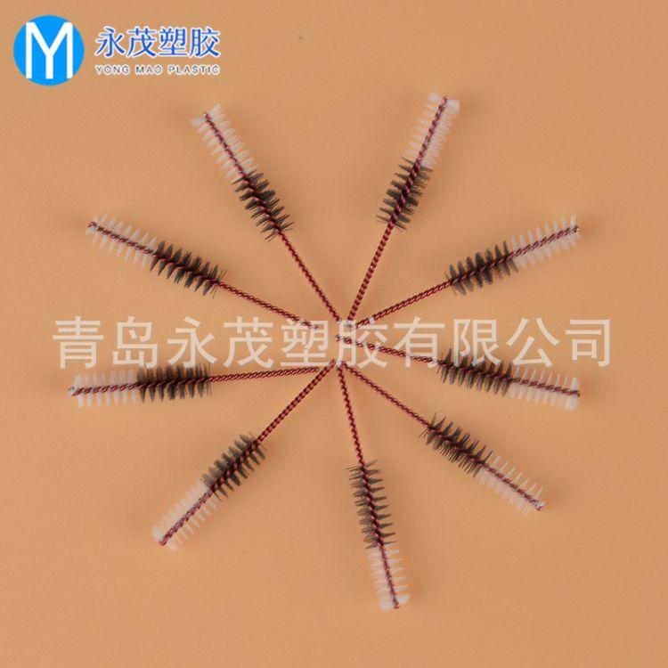 厂家加工定制  德国彩钢双色牙间刷头,齿间刷刷头,牙缝刷头