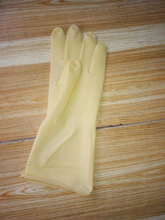 快乐娃牛筋耐酸耐碱家务洗碗手套橡胶手套乳胶手套胶皮手套包邮