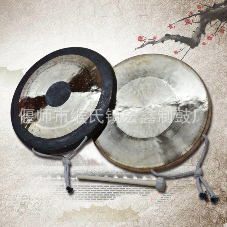 厂家供应27公分30公分32公分大帽釵腰鼓镲大头镲大镲铜锣预警锣