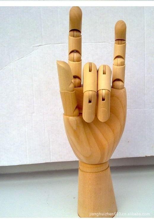 【厂家热销】供应木人木手 荷木可活动木关节手模型 来样来图定做