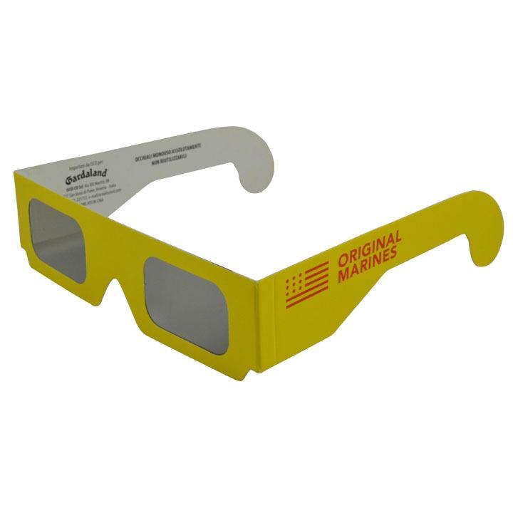 各类3D纸制中性3D眼镜批发零售 3D立体眼镜 可定制LOGO厂家直销
