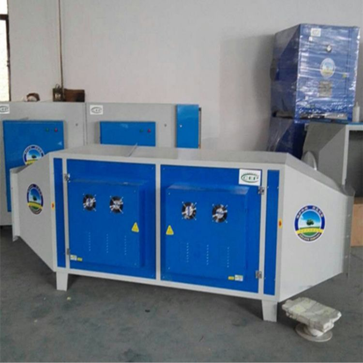 鹏龙厂家定制工业等离子油烟净化器 光氧催化处理低温等离子油烟废气处理设备