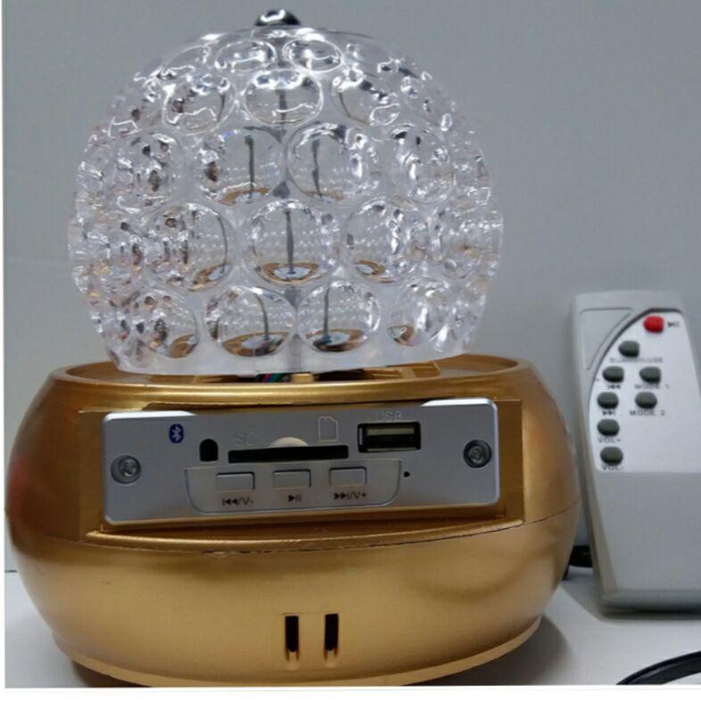 厂家直销 led菠萝灯 菠萝七彩旋转灯 遥控蓝牙播放功能 淘宝热款