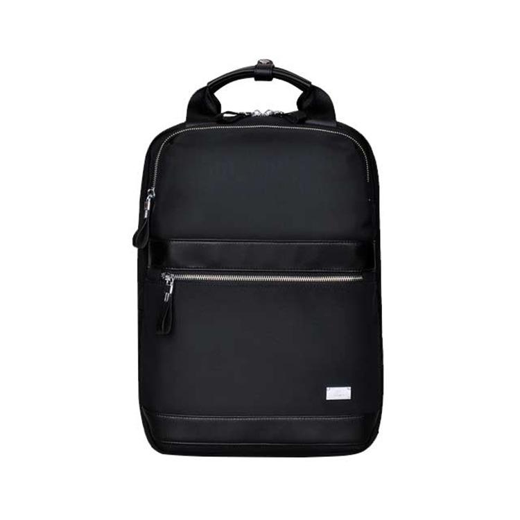 厂家定制男女通用电脑包 纯色欧美时尚双肩背包 防水耐磨包包批发
