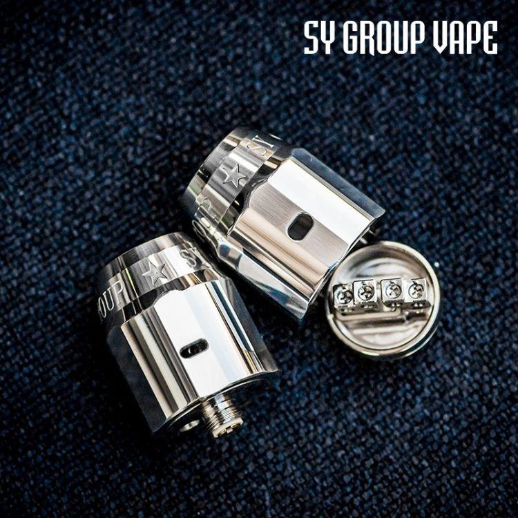 正品 少爷组 SY Group RDA 地狱滴油雾化器 电子烟炼狱口感大烟雾
