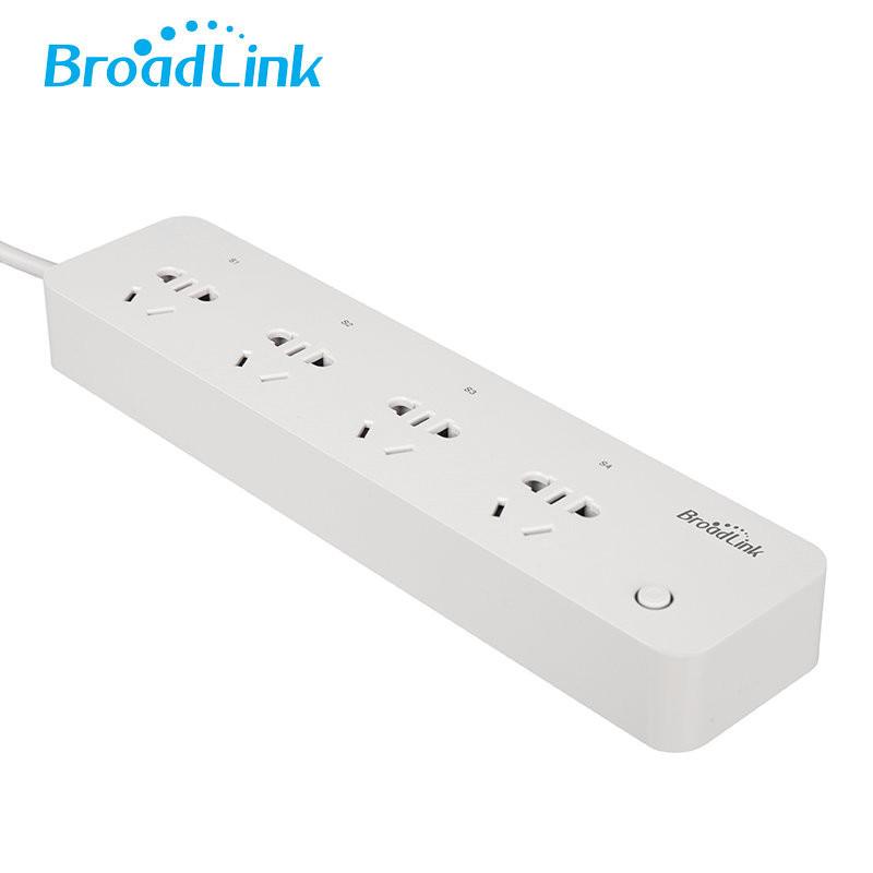 博联Broadlink智能排插MP1 wifi远程控制 多孔独立控制排插插座