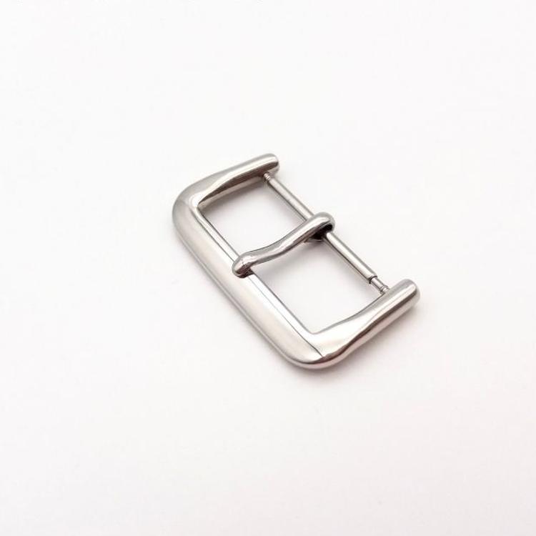 厂家直销不锈钢表扣 手表配件 针扣 皮带扣 方钢扣 硅胶表带扣