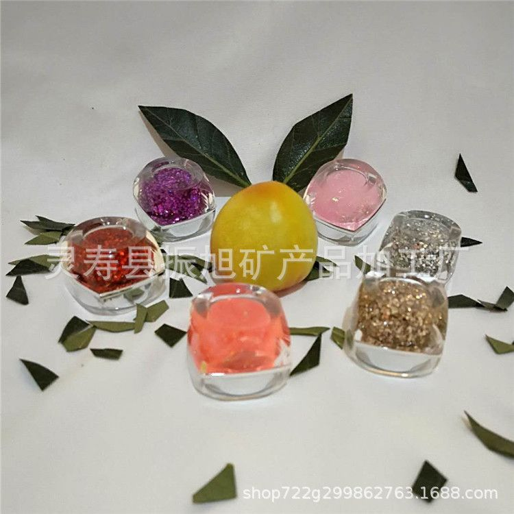 现货供应工艺品美妆美甲用金葱粉镭射金葱粉美缝剂金葱粉欢迎洽谈