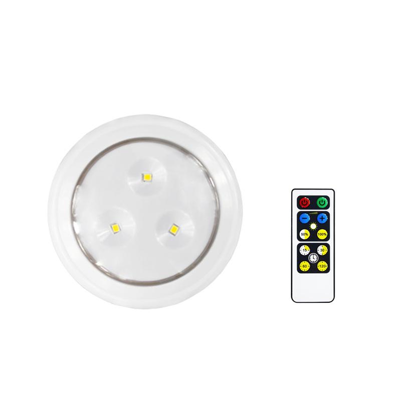 LED遥控柜灯一拖六,电池式拍灯