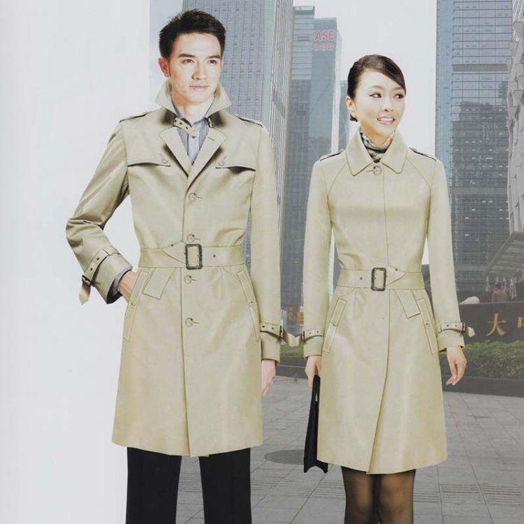 团队定制类职业商务装 西装风衣外套定制加工 都市商务装定制生产