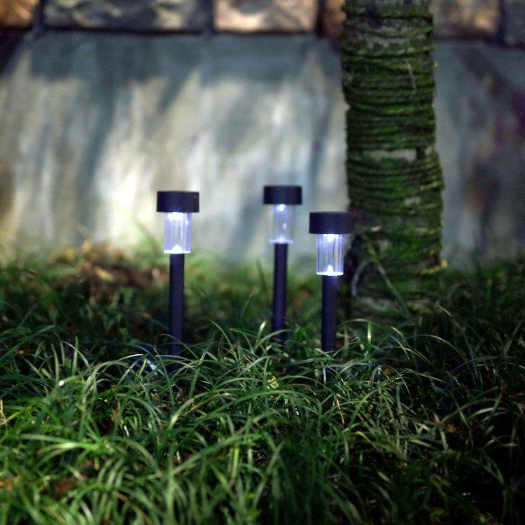 太阳能灯LED小管灯圣诞花园草坪灯庭院别墅迷你装饰地插小管灯