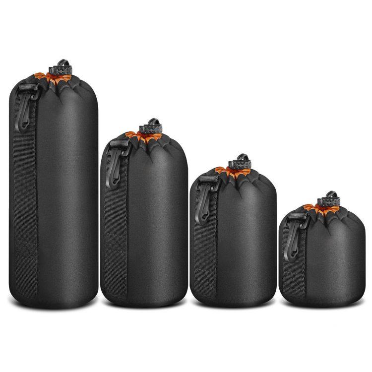 厂家货源批发加绒加厚单反镜头套 潜水料镜头包 相机镜头袋