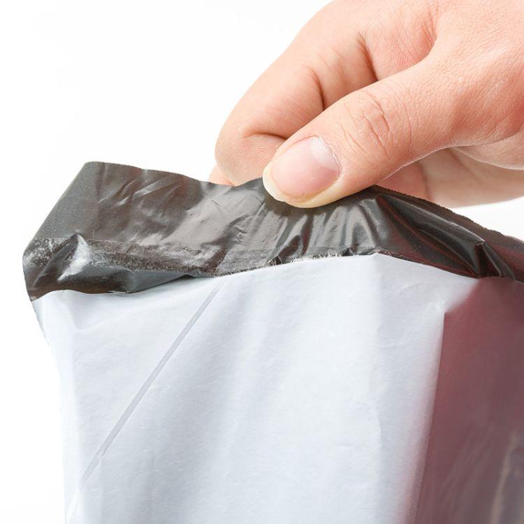 定制批发破坏塑料防水黑色加厚快递袋 物流包装袋打包袋