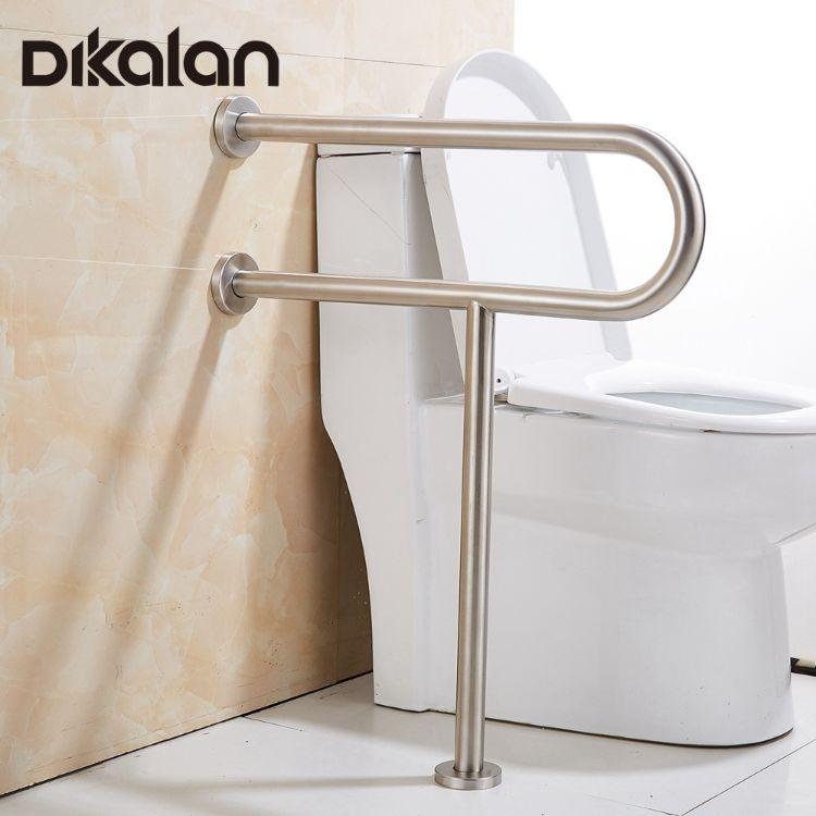 304不锈钢扶手浴室扶手老人残疾人马桶厕所防滑栏杆安全加厚把手