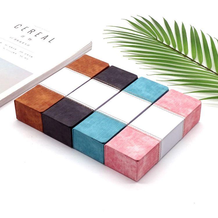 【方飞】青年时尚简约近视眼镜盒 创意可折叠方形太阳镜盒定制