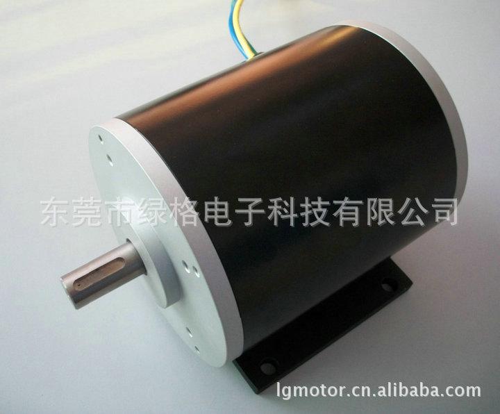 【厂家直销】供应LGBL143系列96V2800RPM直流电动车无刷电机