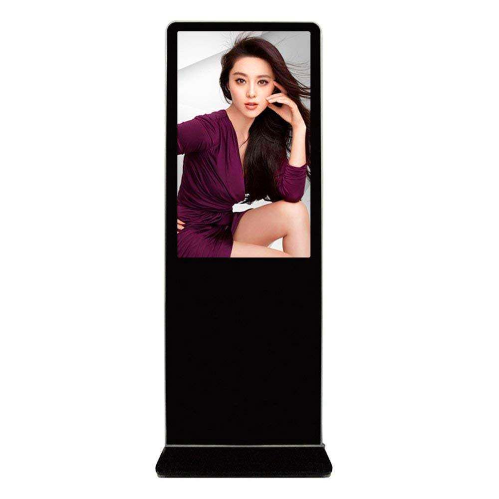 网络版55/42/49/50/55/65寸立式落地式触控一体4K显示高清广告机