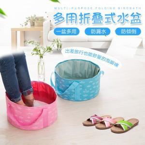 厂家直销便携式可折叠水盆10L16L旅行旅游泡脚桶袋洗衣洗漱脸盆