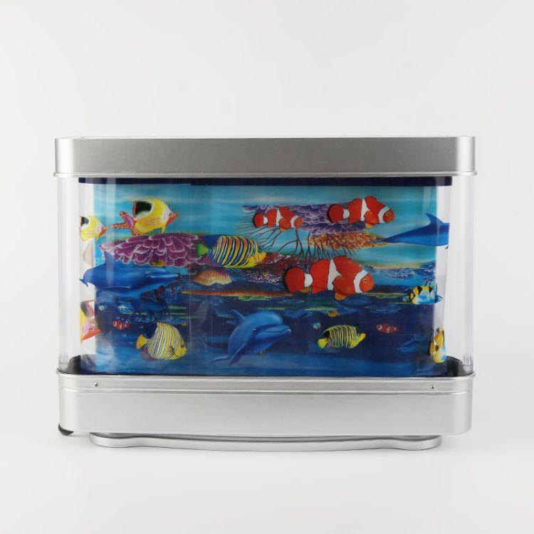 厂家直销儿童玩具赏鱼灯 家居饰品观景灯 新款LED景观灯装饰灯