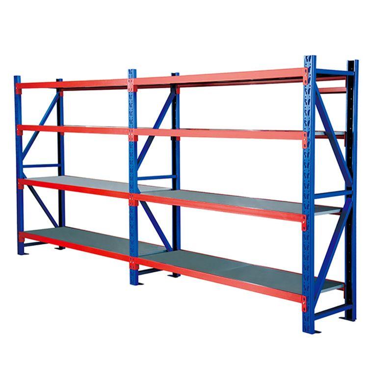 常熟货架厂家直供承重强轻型仓储货架30*50五金仓库储物架置物架