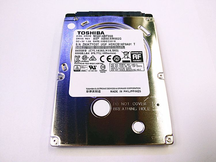 供应原装全新 MQ01ABF050 2.5寸笔记本硬盘 500G机械硬盘