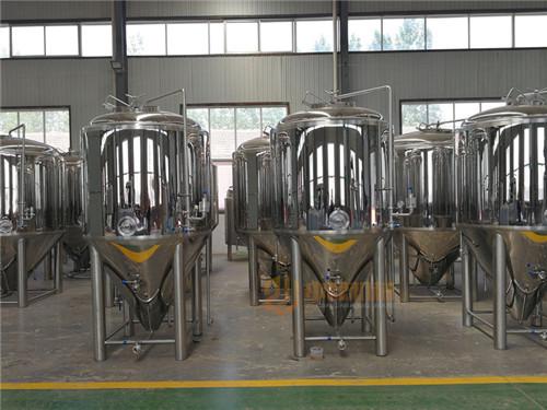 500L啤酒设备,酒吧,中小型啤酒厂,火锅店,自酿啤酒设备
