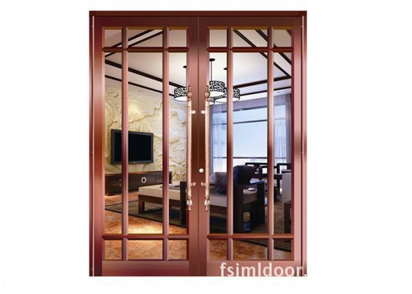 清远铝合金地弹门批发 清远地弹门价格非标定做 铝合金框玻璃门 金玛龙商务门