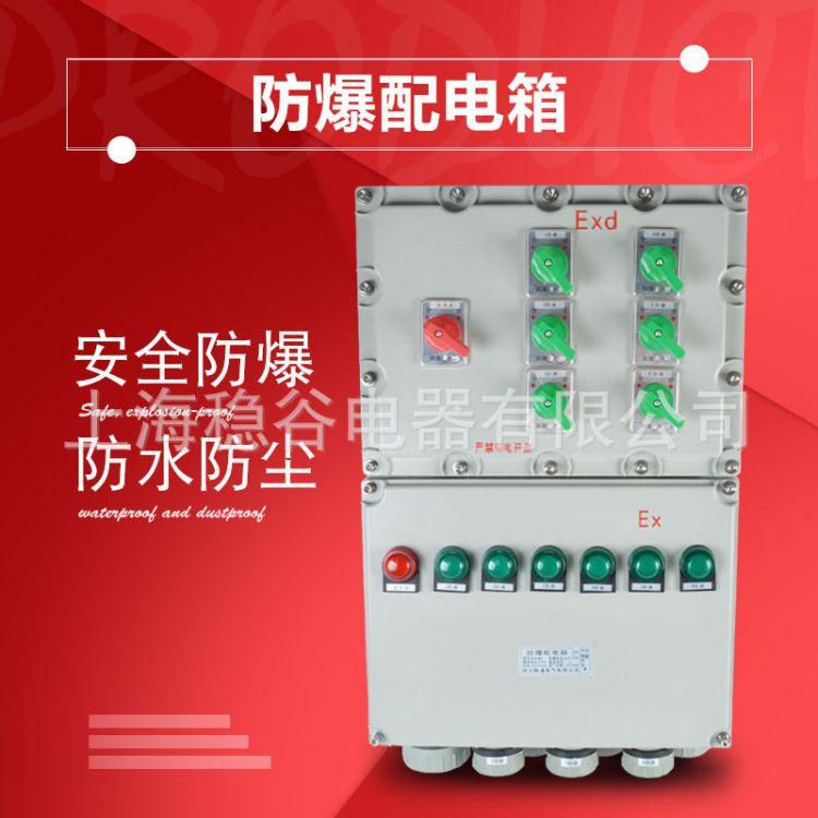 防爆配电箱隔爆电机控制箱IIC生产厂家不锈钢铝合金立式挂式定制