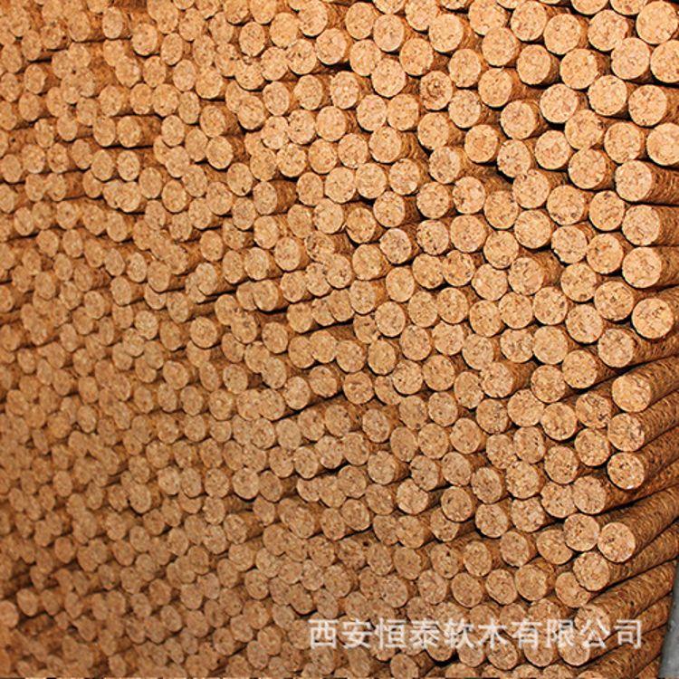 厂家直销55#软木棒,软木塞专用软木棒,天然环保可定做尺寸