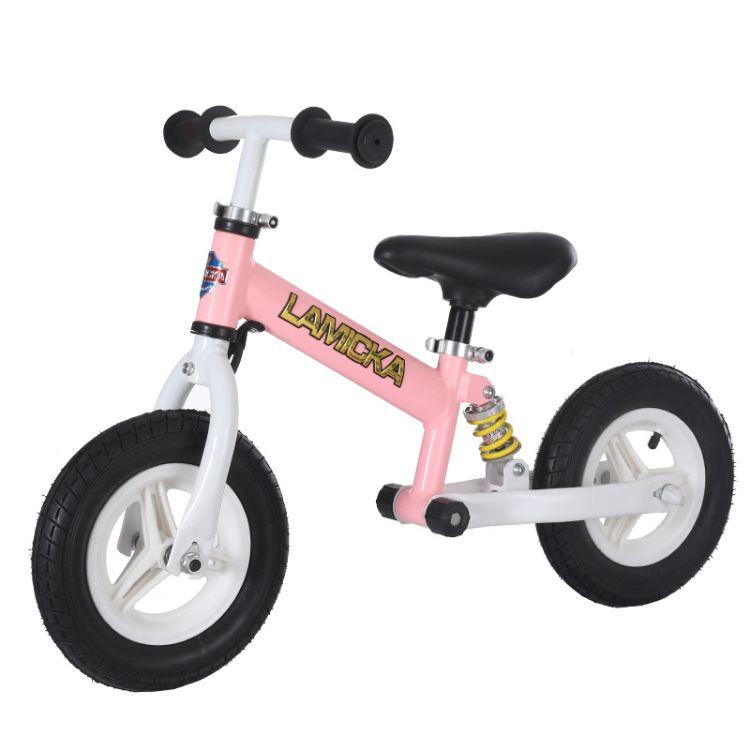 德国儿童平衡车2-6岁小孩滑步车10-12寸滑行车减震无脚踏滑行车