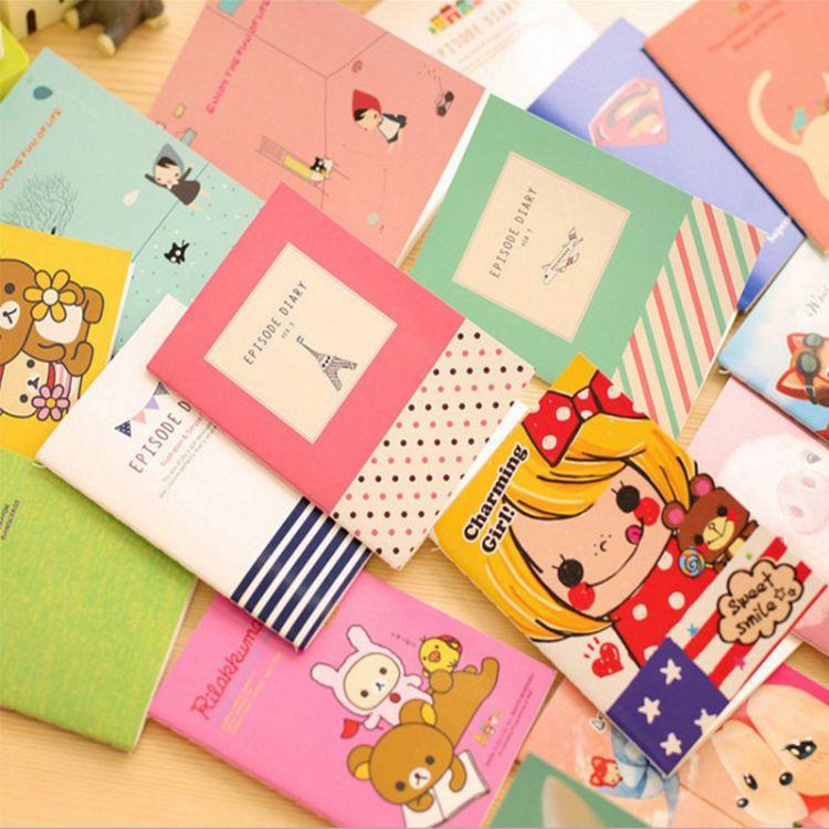 记事本笔记本可爱卡通本淘宝赠品小本子定制便签本小礼物赠品批发