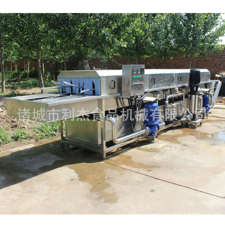 厂家直销 高压喷淋洗筐机 饮料筐清洗机 热水无菌不锈钢机器