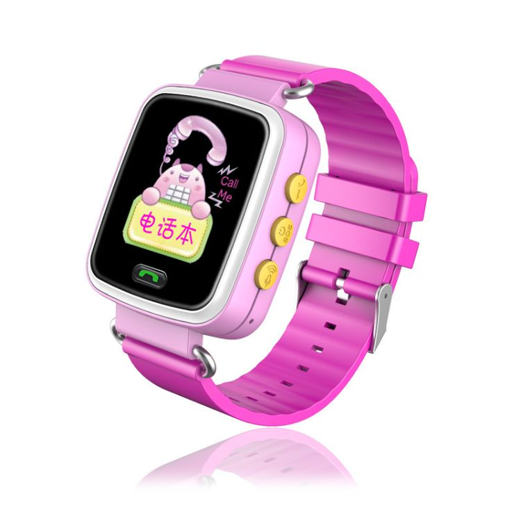 儿童学生手表手机电话 插卡GPS定位防丢彩屏微聊智能穿戴手表手环