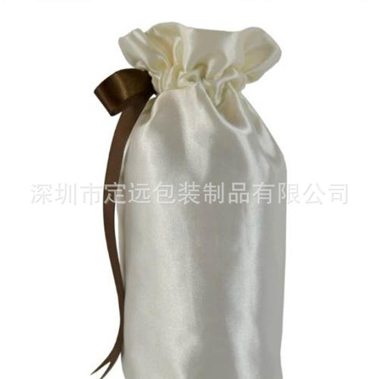 长期销售  束口色丁布袋  抽绳色丁布袋 多功能收纳袋