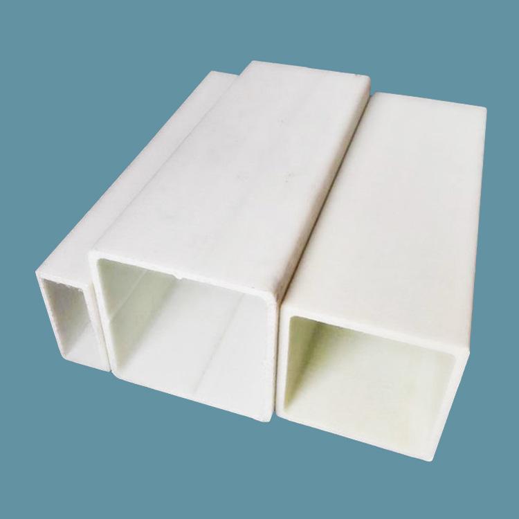 玻璃钢方管高强度玻纤无碱树脂方管圆管50拉挤矩形方管加工定制