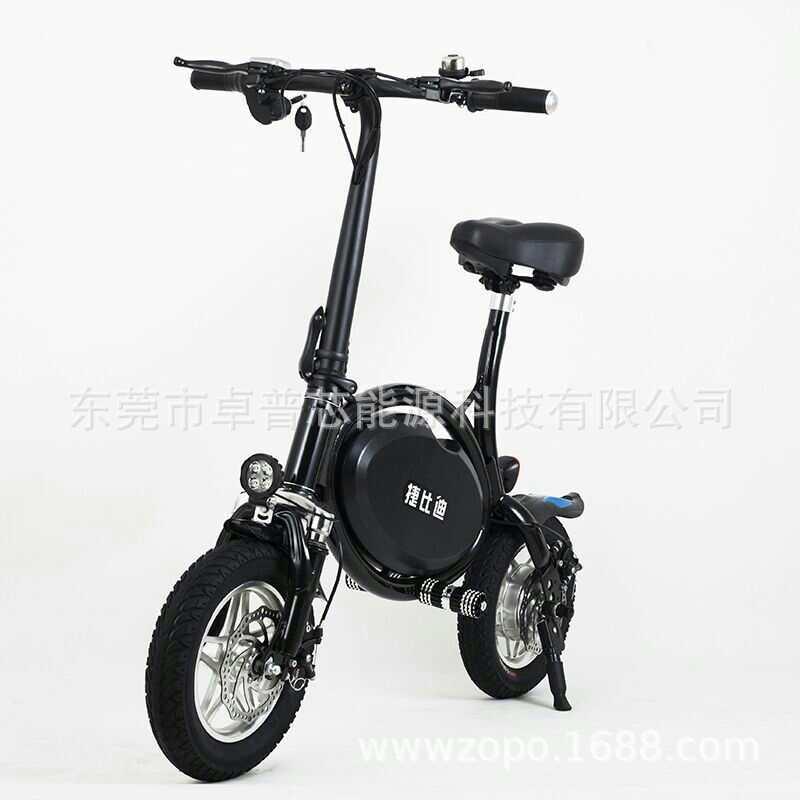 工厂直销12寸电动自行车代步车