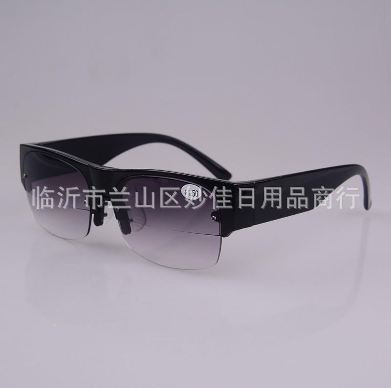 江湖地摊新产品双光老花眼镜双焦太阳老花镜